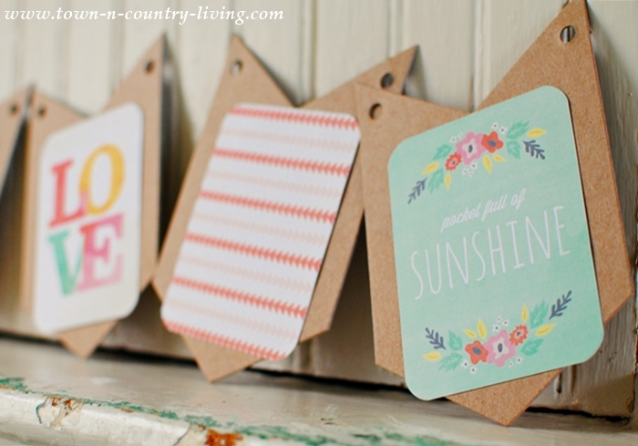 How to Make a Quick and Easy Spring Banner