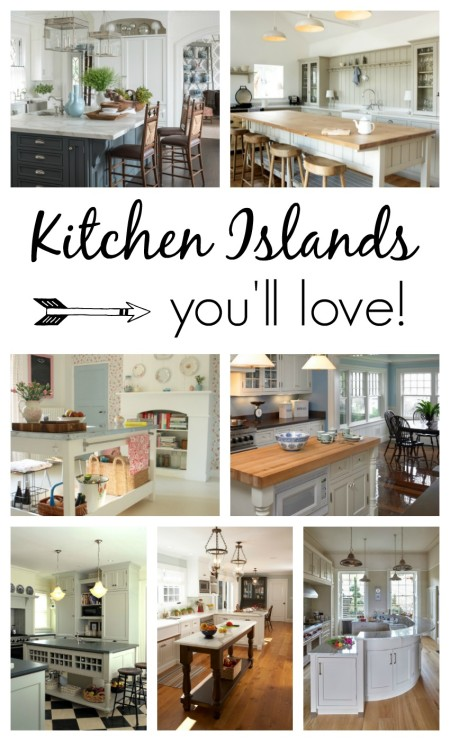 A collection of kitchen islands you'll love!