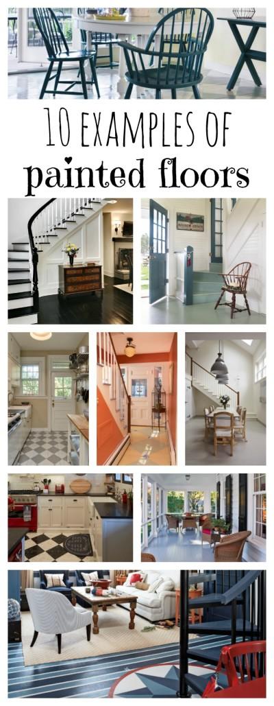 10 Examples of Fun Painted Floors