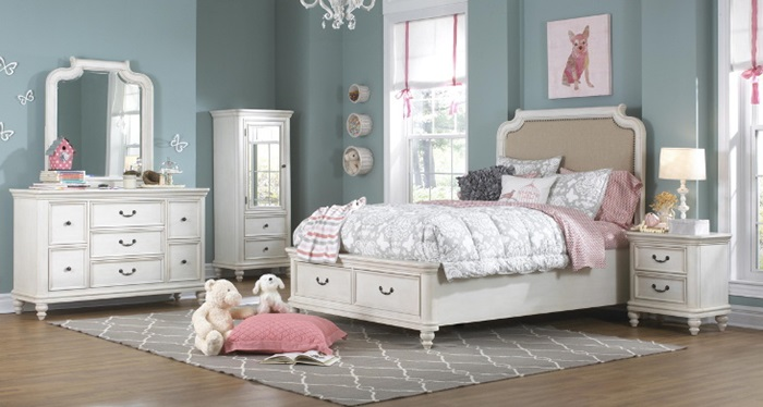 Dreamy Bedrooms for Young Girls