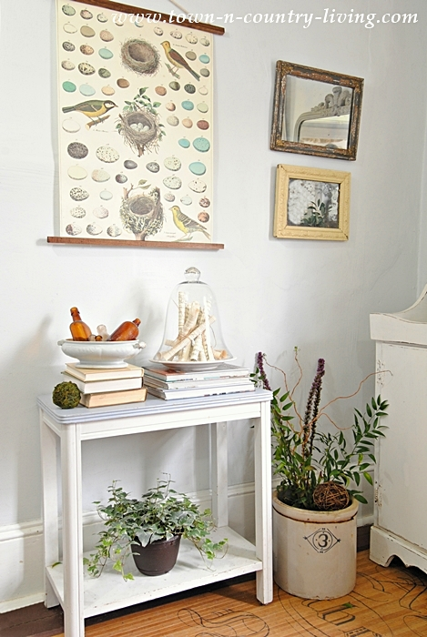 Spring Decorating with a Nature Inspired Theme