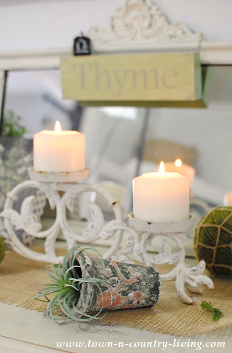 Nature Inspired Spring Decorating.