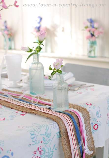 Spring Table Setting and 10 other Spring Decorating Ideas