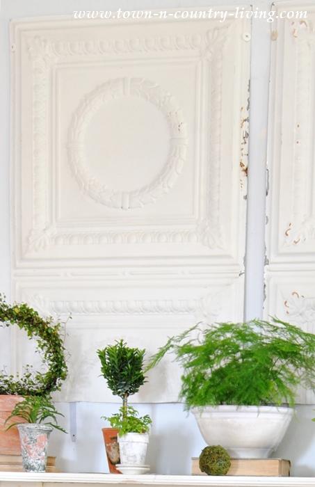 Botanic Spring Mantel