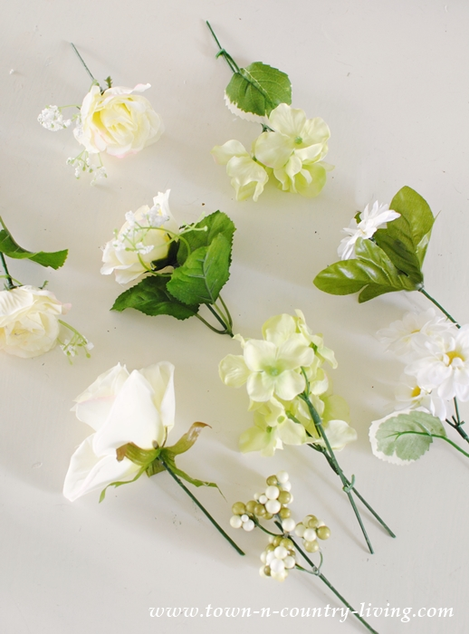 Assortment of Silk Flowers
