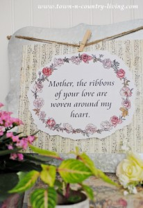Mother's Day Printable: Celebrations of Home