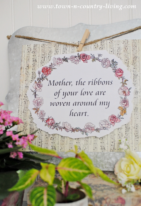 Free Printable. Mother's Day Quote