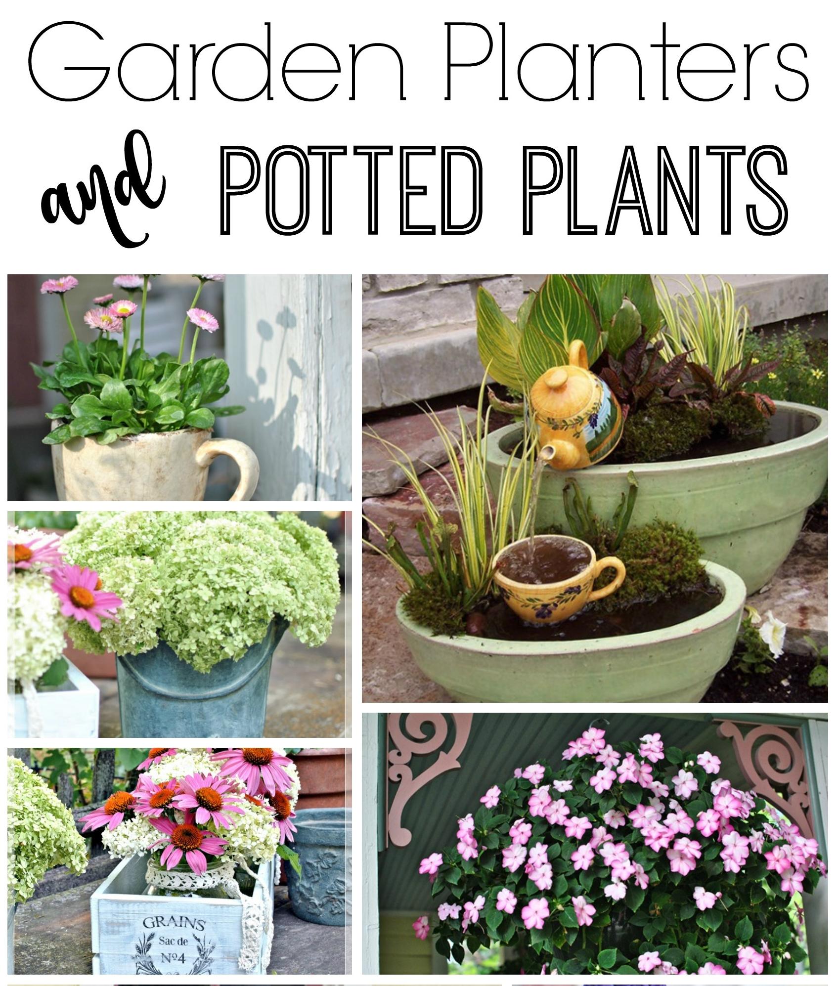Garden Planter Ideas: Farmhouse Friday