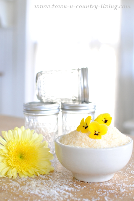 Lemon Chamomile Bath Salts