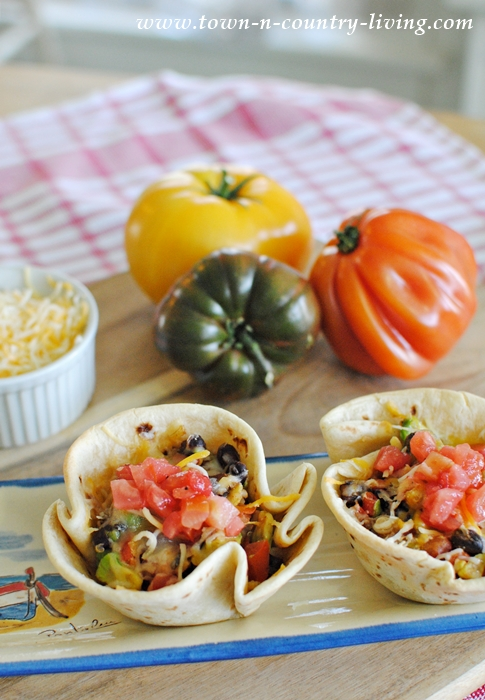 Mexican Burrito Cups - for Lunch or Dinner!