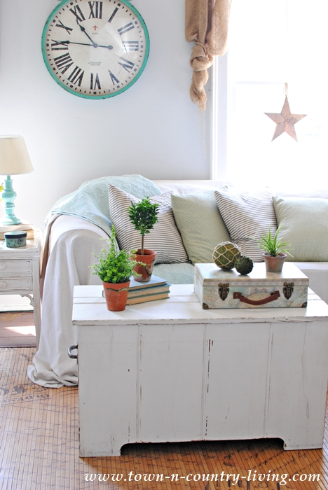 Coffee Table Styling with Natural Elements
