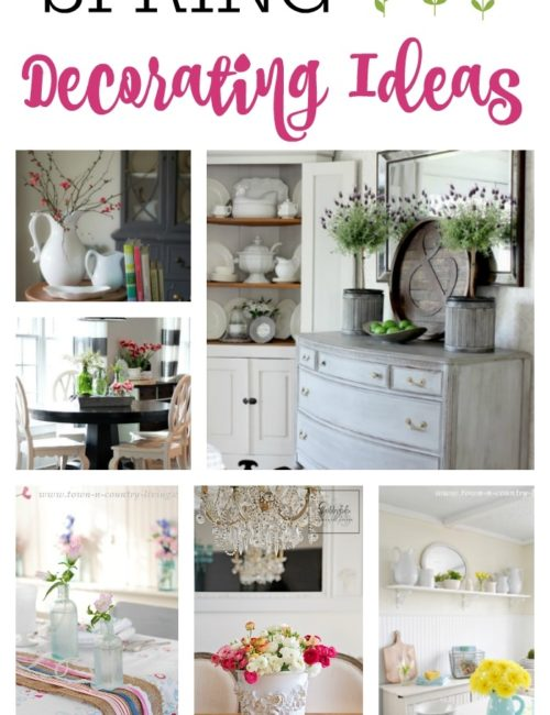 11 Spring Decorating Ideas