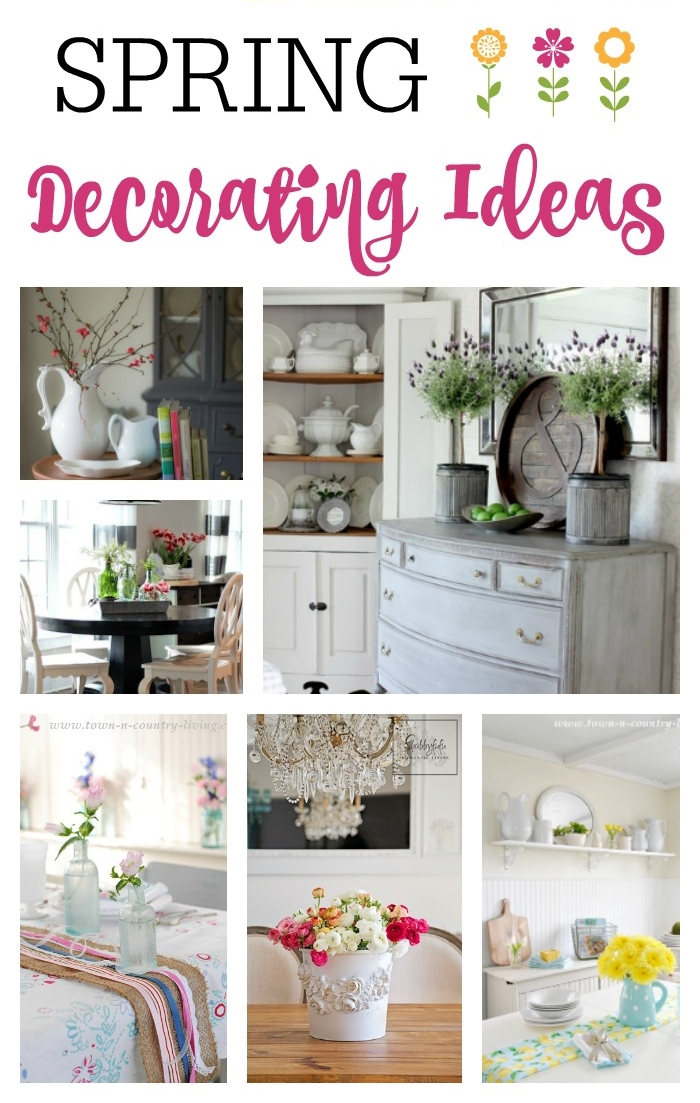 11 Spring Decorating Ideas Town Amp Country Living