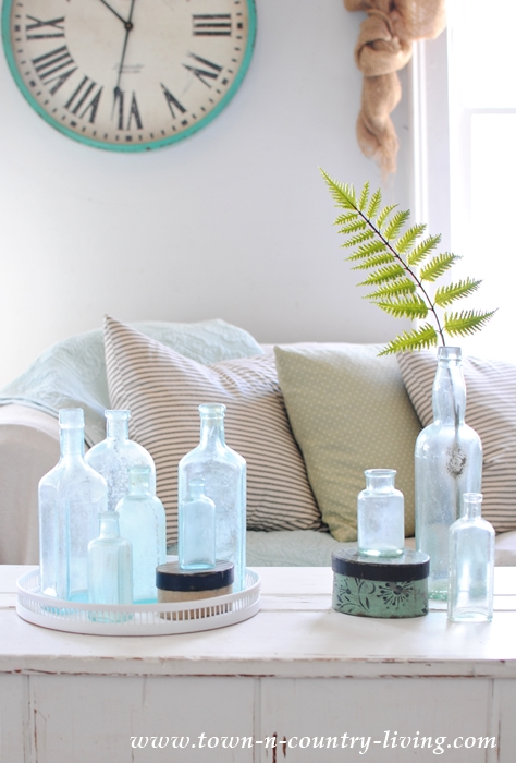 Coffee Table Styling with a Favorite Collection