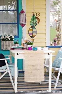 Front Porch Dining with World Market