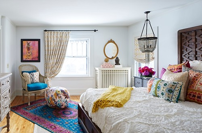 Boho Chic Style Bedroom