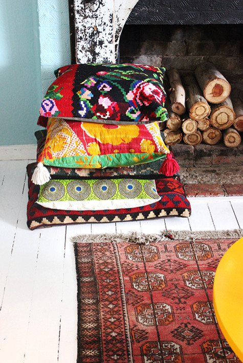 Moroccan Style Floor Pillows