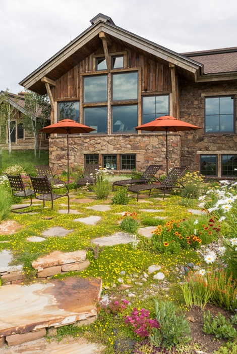 Meadow Style Patio. See more casual patios and examples of relaxed outdoor living.