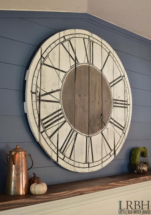Oversized Pallet Clock