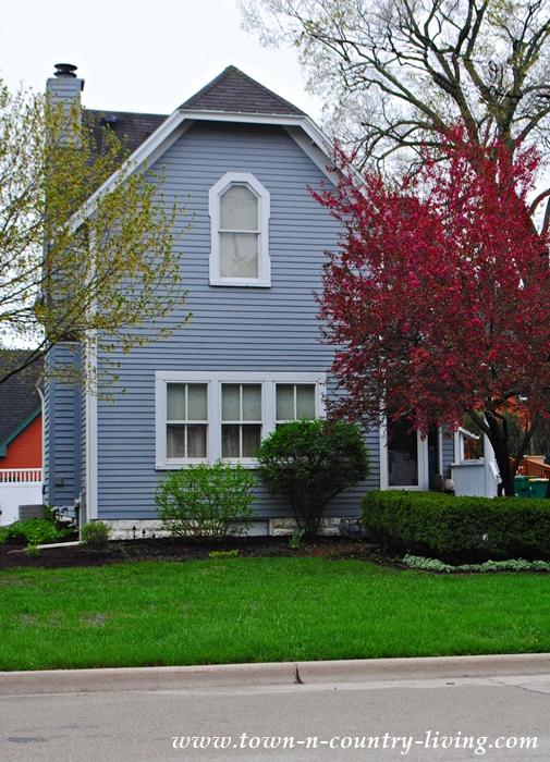 Blue Clapboard Cottage