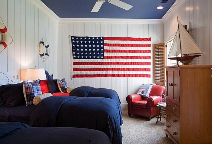 Boys Coastal Style Bedroom