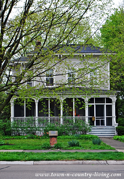 Victorian Home with Screened In Porch