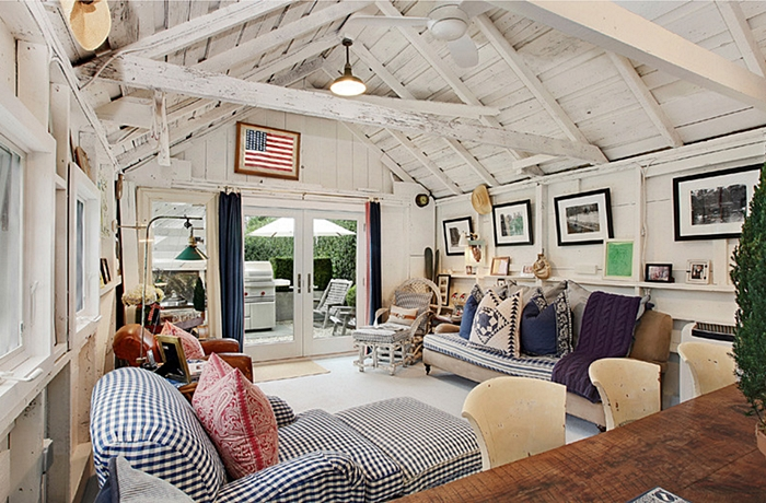 decorating with red white and blue town country living