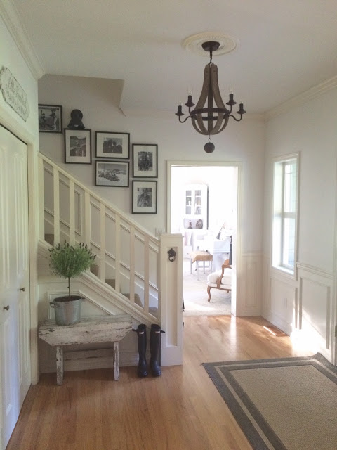 Farmhouse Foyer Rugs : Little farmstead charming home tour town country living