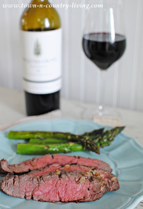 London Broil Paired with Cabernet Sauvignon