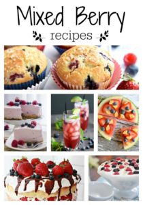 37 Berry Recipes You'll Love!