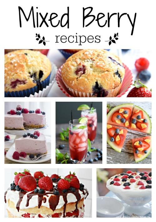 Mixed Berry Recipes