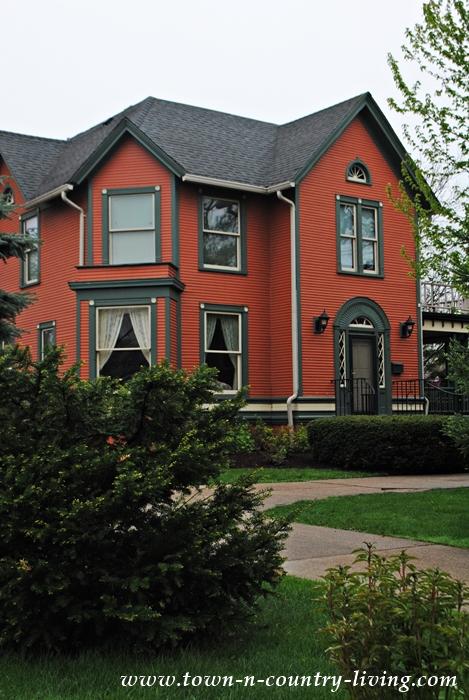 Burnt Orange Historic Home