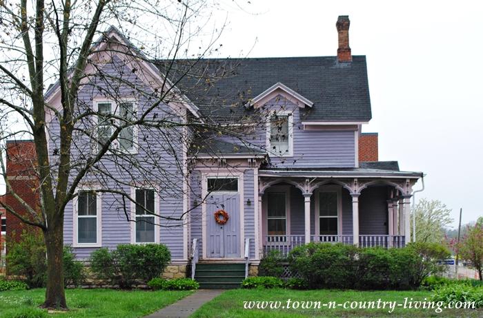 Lavender Victorian Home