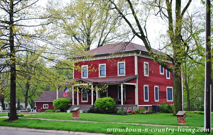 Historic Red Clapboard Home