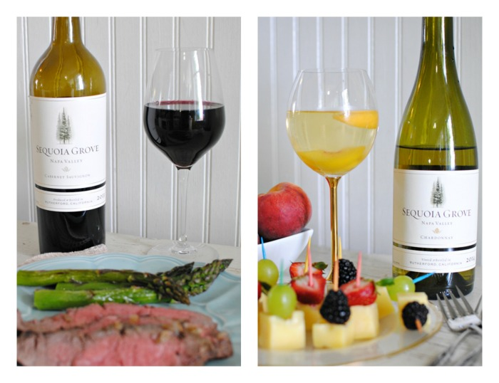 Red and White Wine Pairings with Cabernet Sauvignon and Chardonnay