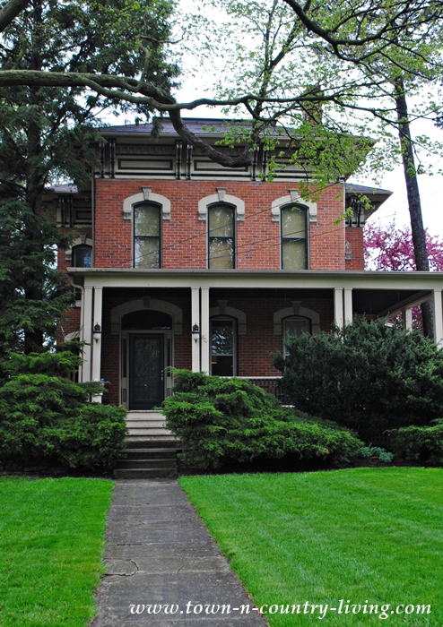 Historic Brick Home in Sycamore Illinois