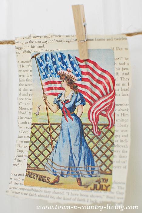 How to Make a Vintage Patriotic Banner