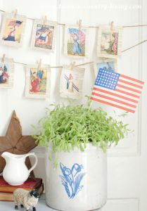 How to Make a Vintage Patriotic Banner