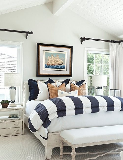 Nautical Style Bedroom