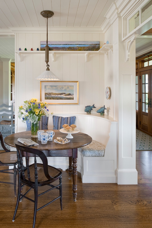 Farmhouse Kitchen Table With Bench Seat