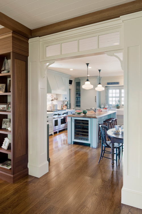 Charleston cottage charming home tour town country living for Prefab interior arches