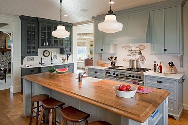 Charleston Cottage Kitchen