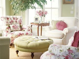 Decorating with Pink and Green