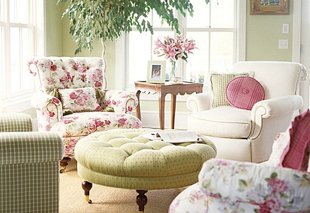 Decorating with Pink and Green - Town & Country Living
