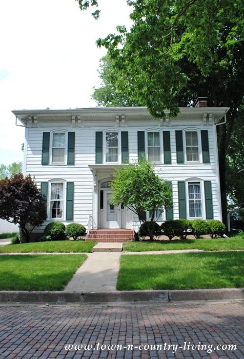 Classic White Historic Home