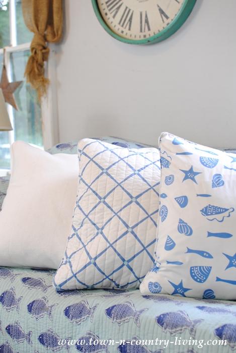 Coastal Style Pillows