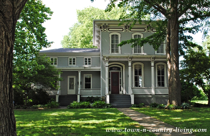 Gray Victorian Home