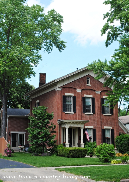 Red Brick Historic Home