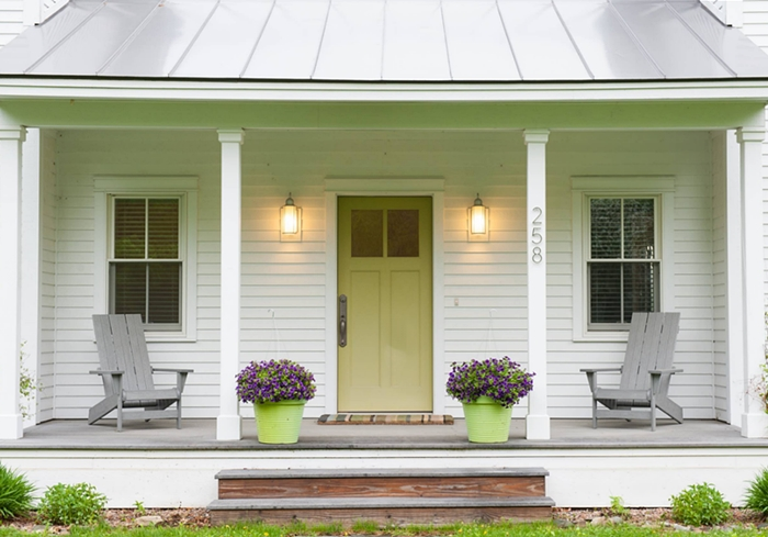 Symmetrical Farmhouse Porch