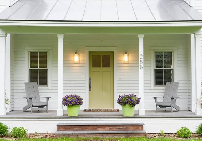 Symmetrical Farmhouse Porch